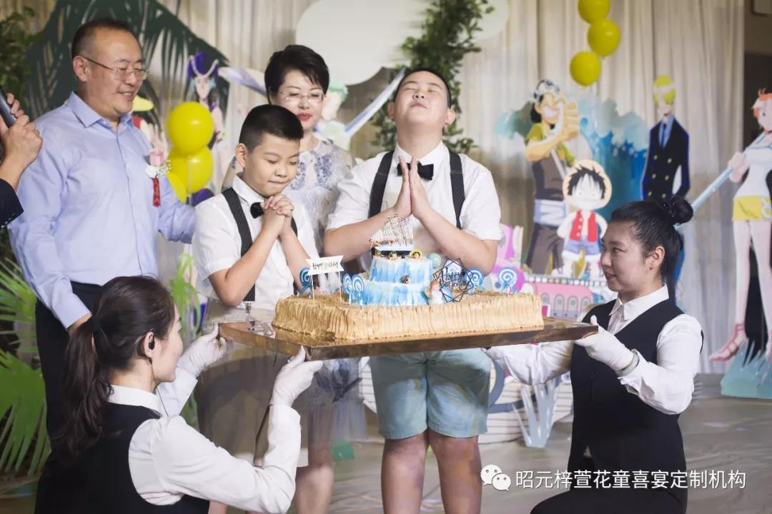 """想要成为""""海贼王""""的男人,周岁生日派对——梓萱花童"""
