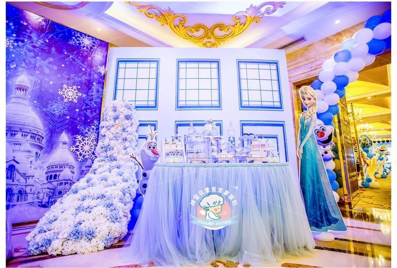 成都宝宝宴 这样的宝宝宴才配得起集萌宠于一身的小天使!梓萱花童